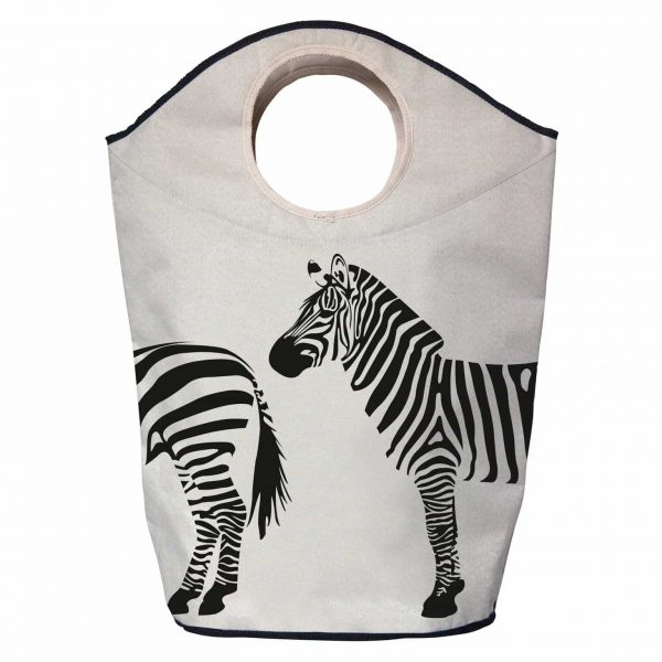 One Two Zebra - Designer Laundry / Functional Bag
