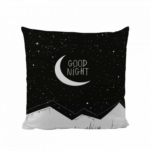 Good Night - Designer Cushion
