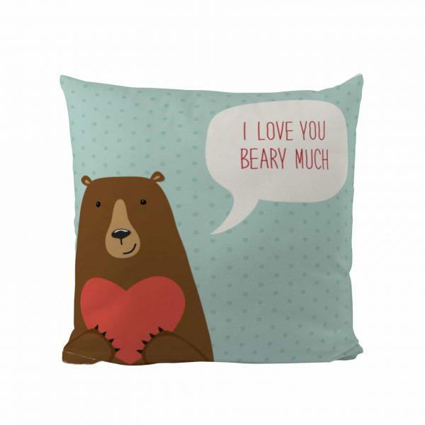 Beary Much - Designer Cushion