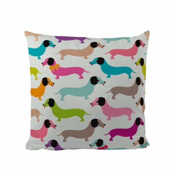 Colour Dachshunds - Designer Cushion