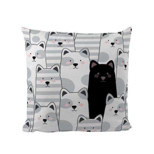 Black Cat - Designer Cushion