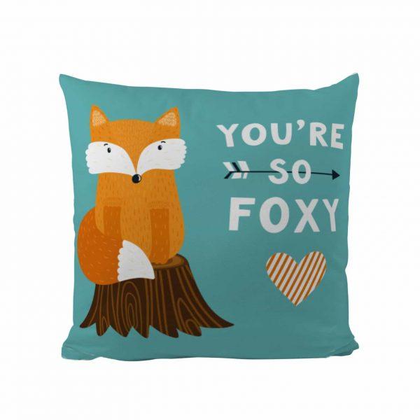 Foxy - Designer Cushion