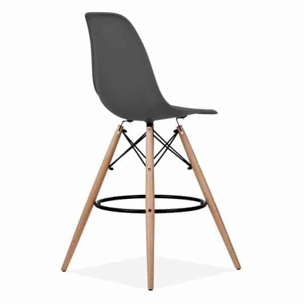 Eames-DSW-Style-Stool-Dark-Grey-710mm