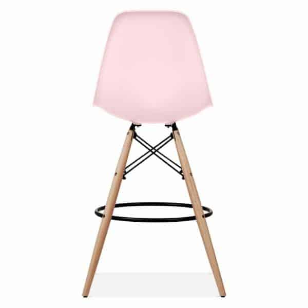 Eames-DSW-Style-Stool-Pink-710mm