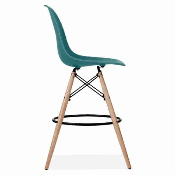 Eames-DSW-Style-Stool-Teal-710mm