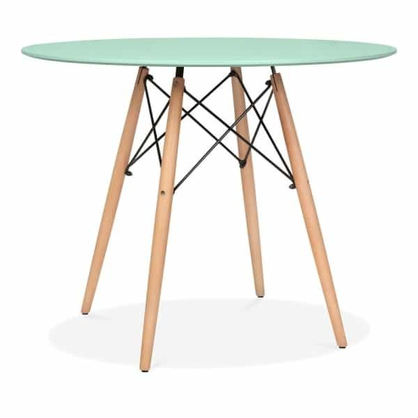 DSW Round Dining Table - Peppermint Natural