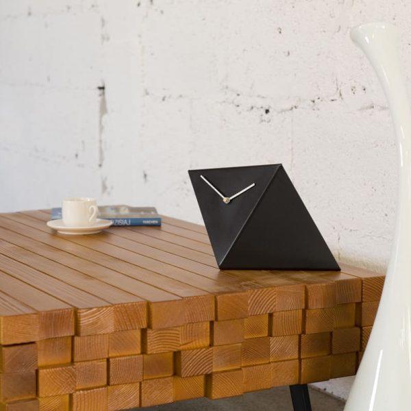 GIE Black Table Top Design Clock