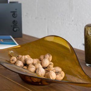 GIE El Honey Wave Glass Bowl
