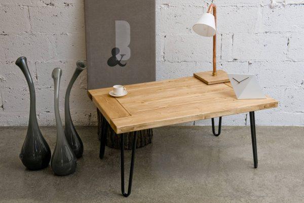 GIE El Black Hairpin Leg Coffee Table