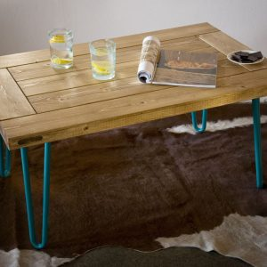 GIE El Turquoise Hairpin Leg Coffee Table