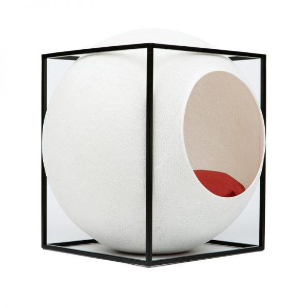 Meyou Paris Ivory Cube Designer Pet Furniture