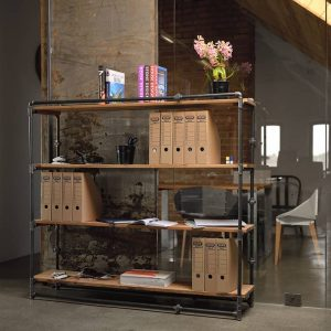 PIPE Bookcase - Shelving Unit / Large