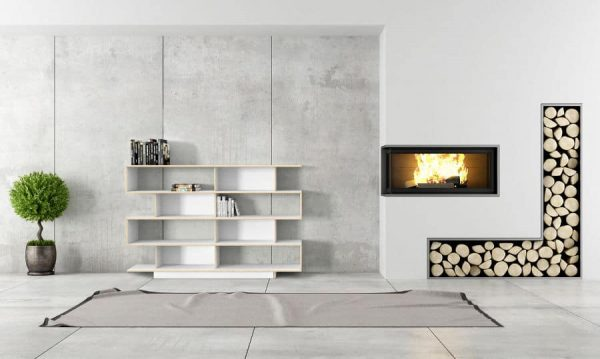 SAM Shelving Unit 200cm Wide- White Film Plywood